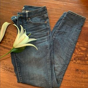 JCrew Factory High Waisted Skinny Jean